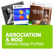 Malaysia Website Design Association & NGO Portfolio