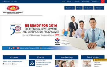 MIM � Malaysian Institute of Management - Web Design in Malaysia