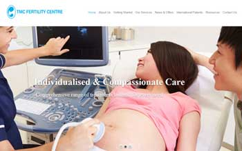 TMC Fertility Centre - Web Design in Malaysia