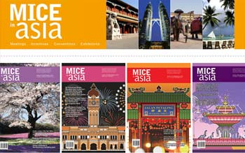 MICE IN ASIA - Meetings, Incentives, Conventions, Exhibtions in Publication in Malaysia