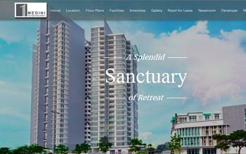 1Medini - Your Idyllic Urban Retreat - Website Design in Malaysia