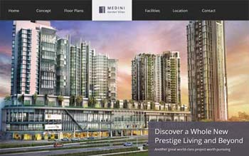 1 Medini Villa by WCT - Property Developer Website - Web Design by in Malaysia