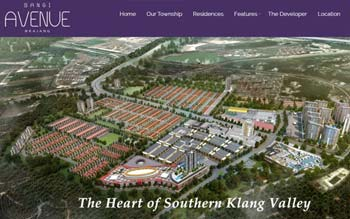 Bangi Avenue Development by Transloyal - Property Developer Website - Website by Skytomato