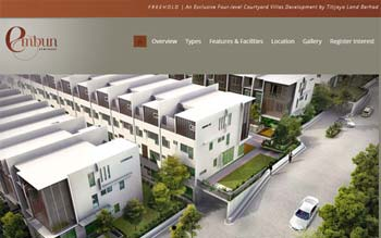 EMBUN Kemensah - Property Developer Website - Website Design in Malaysia
