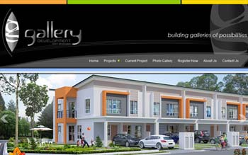 GALLERY DEVELOPMENT - Property Developer Website - Website Design in Malaysia