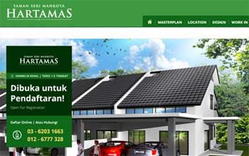 Mahkota Hartamas by Castmet Kuantan - Property Developer Website - Website Designed by Skytomato