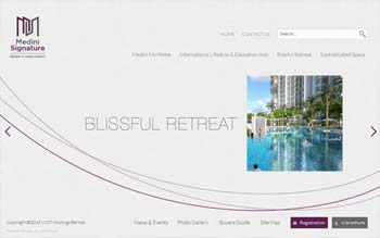 WCT - Medini Signature Project - Web Design in Malaysia