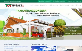 Ting Mee Group - Website Design in Malaysia