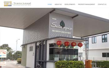 TRANS LOYAL - Property Developer Website - Website Design in Malaysia