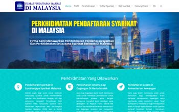 Daftar Syarikat Malaysia - Malaysia SSM Business Registration Services in with Website Design