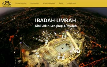 Tazkiyah Travel - Umrah Package - Website Maintenance