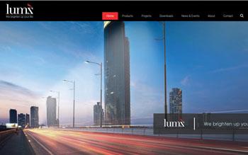 Lumz Lighting - Web Design in Malaysia