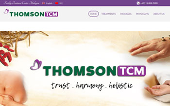 Thomson Traditional Chinese Medicine - Web Design in Malaysia