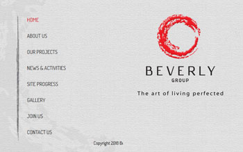 Beverly Group - Web Design in Malaysia