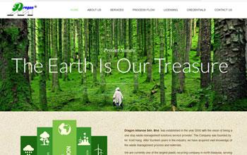 Dragon Alliance Plastics - Web Design in Malaysia