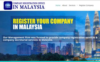 DM Corporate Register Company - Web Design in Malaysia