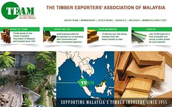 Timber Export Association of Malaysia - Website Design in Malaysia