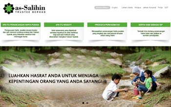 As-salihin Sdn Bhd - Trustee & Will Writings, Malaysia Emarketing and Website Maintenance Services