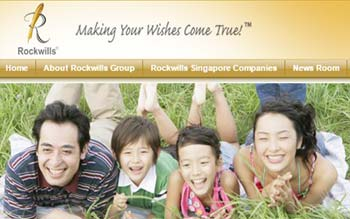 Rockwills Corporate Services - Web Design in Malaysia