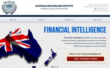 ANZ Institute Pty Ltd - Website Design in Malaysia