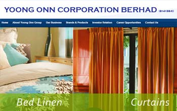 Yoong Onn Corporation Bhd - Website Design in Malaysia