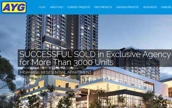 AYG Property Solutions - Website Design in Malaysia