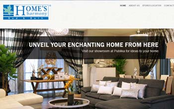 Homes Harmony - Web Design in Malaysia