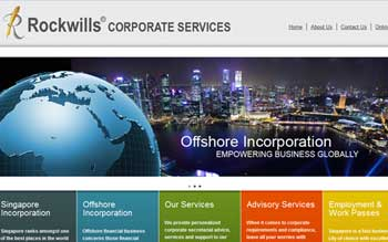 Rockwills Incorporation Singapore - Web Design Singapore